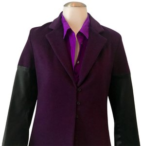 Sylvia Heisel Color Colour Plum Pea Coat