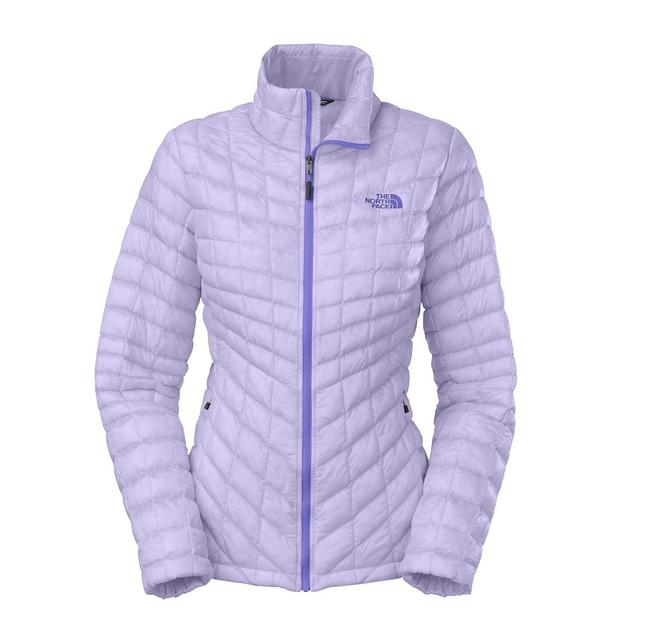The North Face Soft Purple Thermoball Fz Jkt Jacket Size 8 (M) The North Face Soft Purple Thermoball Fz Jkt Jacket Size 8 (M) Image 1