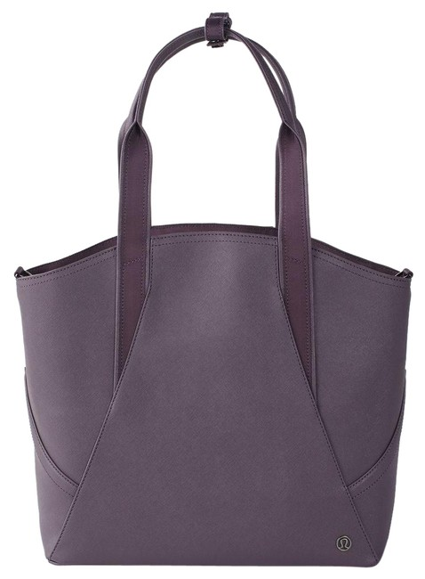 Item - All Black Currant/Purple Fabric Is Water-repellent Durable and Easy To Wipe Clean Tote