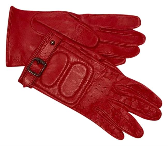 Item - Red M 7 Moto Quilted