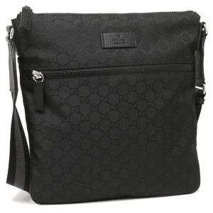 Gucci Canvas Guccissima Black Messenger Bag