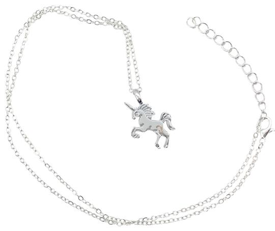 Preload https://img-static.tradesy.com/item/24501978/silver-tone-unicorn-pendant-on-chain-necklace-0-1-540-540.jpg