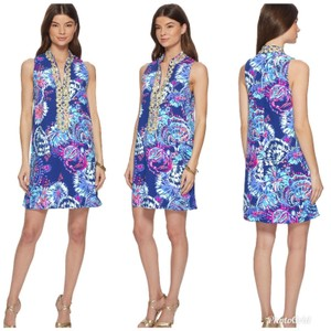 Lilly Pulitzer Shiftdress Resortwear Embroidered Dress