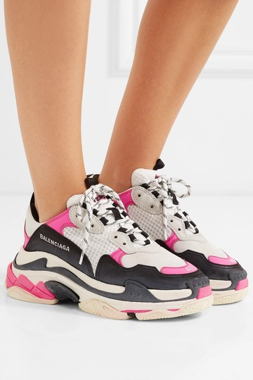 Balenciaga Speed Sneaker Sneakers High Top pink & white Athletic Image 4