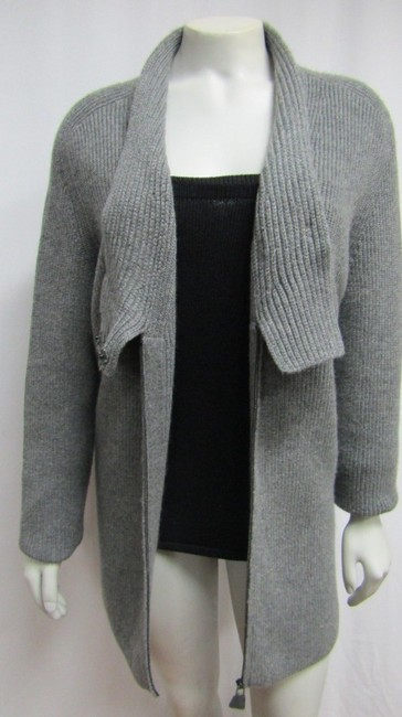 Akris Cashmere Sweater Ribbed Knit Cardigan Image 2