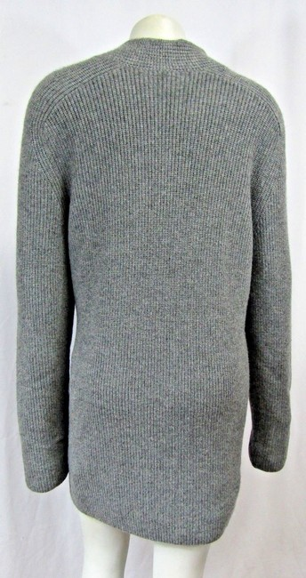 Akris Cashmere Sweater Ribbed Knit Cardigan Image 4
