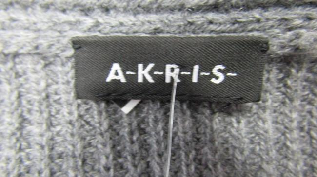 Akris Cashmere Sweater Ribbed Knit Cardigan Image 5