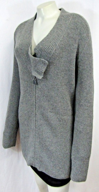 Akris Cashmere Sweater Ribbed Knit Cardigan Image 9
