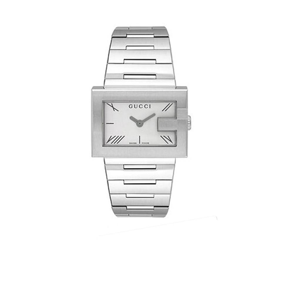 Gucci Silver Ya100506 100 Quartz Women\u0027s Watch 49% off retail