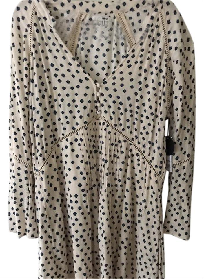 78f4afbdb729c Amuse Society In Color Sand Dollar Love Struck Casual Dress. Size  8 ...