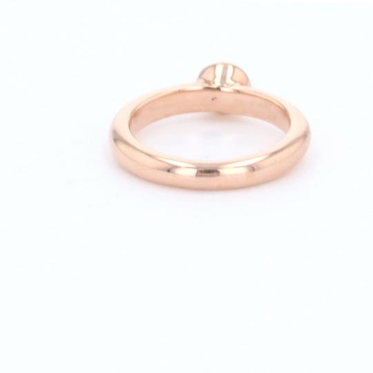 Rose Gold 18k Minimalist Solitaire Diamond (0.47 Ct) Engagement Ring Image 2