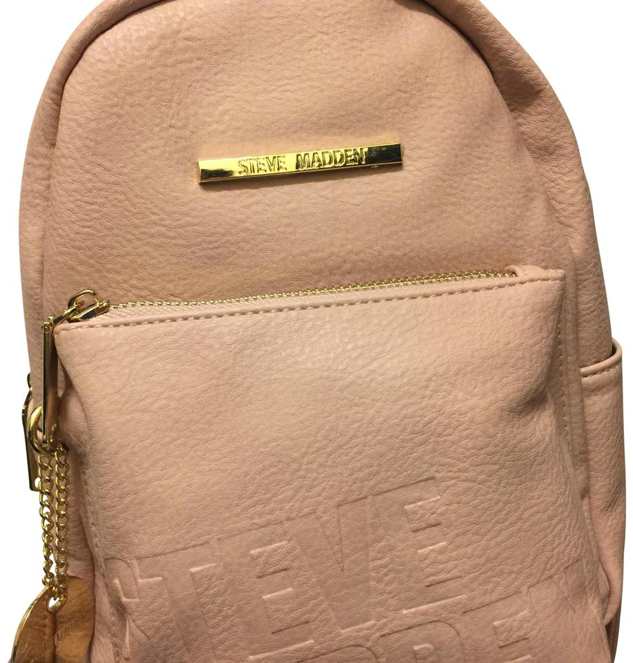 d08a7ab0db1 Steve Madden Women's Handbag Blush (Pink) Faux Leather Backpack ...