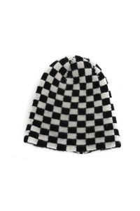 The Elder Statesman Elder Statesman Checkered Beanie