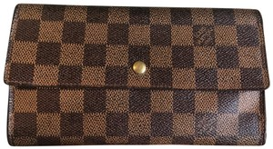 Louis Vuitton Louis Vuitton Damier Ebene long wallet