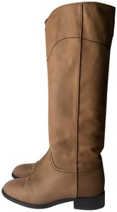 Chanel beige camel brown Boots