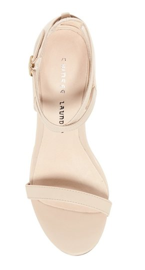 Chinese Laundry Open Toe Ankle Strap Buckle Clsoure Lightly Padded 4.8