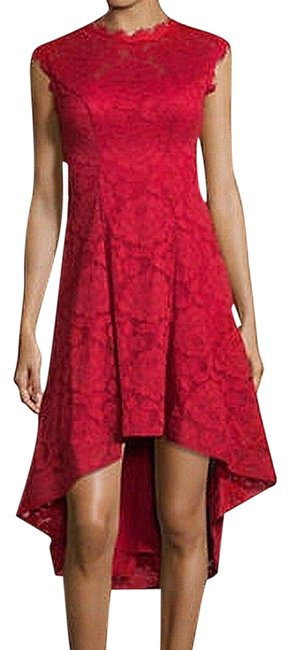 Item - Red & Adam New Women's Floral Lace High-low Cut Short Cocktail Dress Size 6 (S)