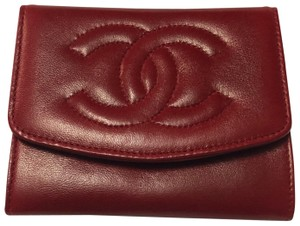 Chanel Chanel Red Wallet