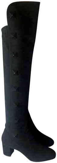 Preload https://img-static.tradesy.com/item/24502627/valentino-black-rockstud-studded-suede-tight-high-over-the-knee-bootsbooties-size-eu-37-approx-us-7-0-1-540-540.jpg