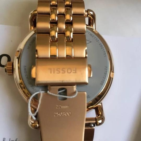 Fossil Fossil Q Wander Rose Gold Stainless Steel Touchscreen Smartwatch Image 1