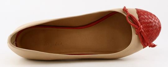 Cole Haan Leather Comfort Bow Ballet eige Poppy Flats Image 2