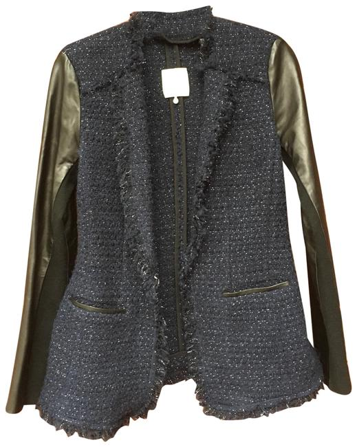 Preload https://img-static.tradesy.com/item/24502833/rebecca-taylor-leather-and-tweed-jacket-size-2-xs-0-2-650-650.jpg