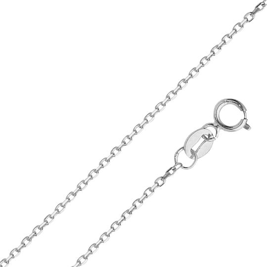 Preload https://img-static.tradesy.com/item/24502858/white-14k-gold-12-mm-diamond-cut-oval-angled-cable-chain-16-necklace-0-1-540-540.jpg