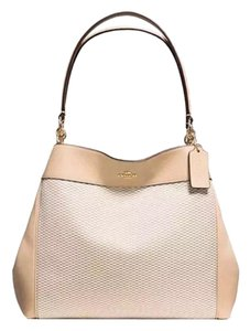 dab644a4a401 Coach Clarkson Hobo 24947 Crossbody Beechwood Gold Leather Shoulder ...