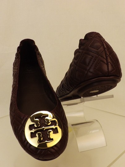 Tory Burch Red Flats Image 10