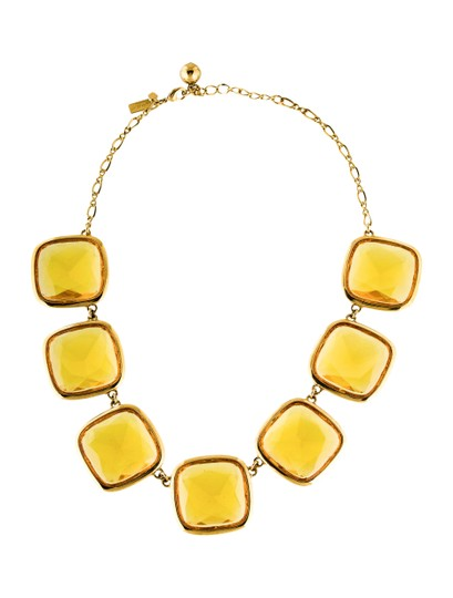 Kate Spade Kate Spade Big Time Citron Necklace NWT Image 0