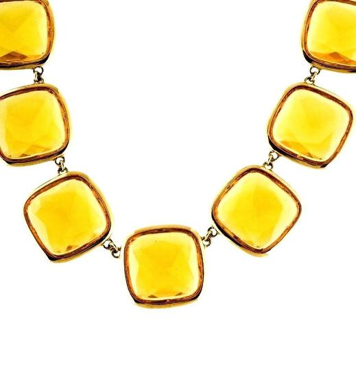 Kate Spade Kate Spade Big Time Citron Necklace NWT Image 1