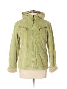 Giacca Corduroy Sherpa Hooded Pea Coat
