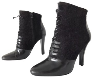 3.1 Phillip Lim Harleth Suede Glossy Black Boots