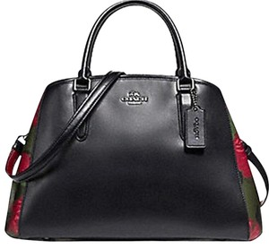 Coach Carryall 57492 57631 Margot Satchel in Black multi color