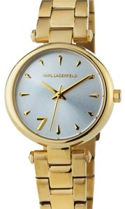 Karl Lagerfeld Audelie Golden Bracelet Watch