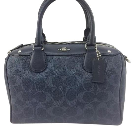 Coach Satchel in Blue Image 0