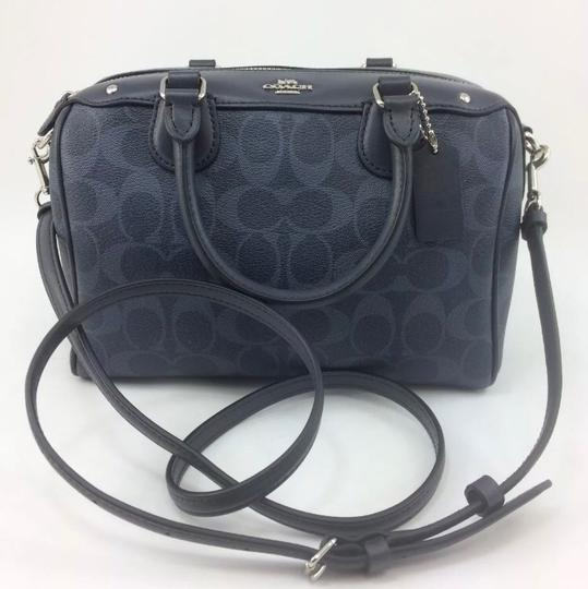 Coach Satchel in Blue Image 1