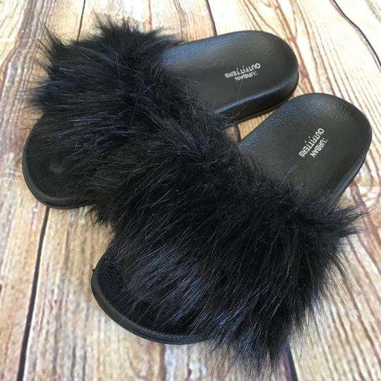 Urban Outfitters Black Sandals Image 3