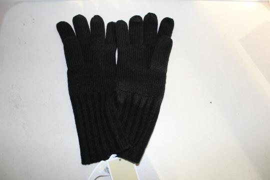 Michael Kors NWT MICHAEL KORS BUTTON DETAILED GLOVES BLACK ONE SIZE 537586 Image 3