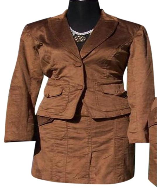 Preload https://img-static.tradesy.com/item/24503326/cache-brown-thin-cord-lined-jacket-top-new-skirt-suit-size-8-m-0-3-650-650.jpg
