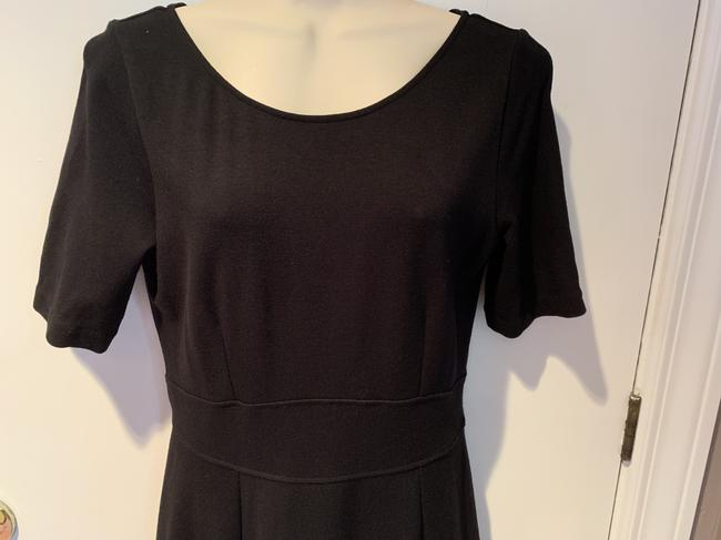 J.Crew Knit Short Sleeve Fit And Flare Dress Image 1