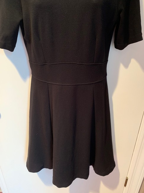 J.Crew Knit Short Sleeve Fit And Flare Dress Image 2