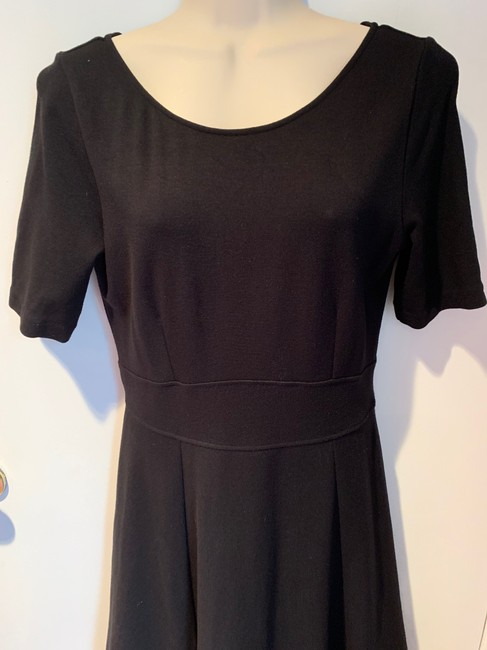 J.Crew Knit Short Sleeve Fit And Flare Dress Image 3