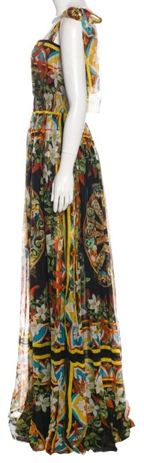 Preload https://img-static.tradesy.com/item/24503632/dolce-and-gabbana-floral-print-dolce-and-gabbana-wheel-long-casual-maxi-dress-size-4-s-0-1-650-650.jpg