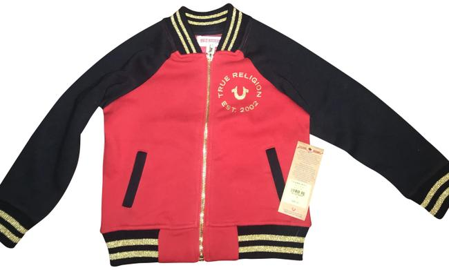 Item - Red/ Black Kids Jacket Size Petite 4 (S)