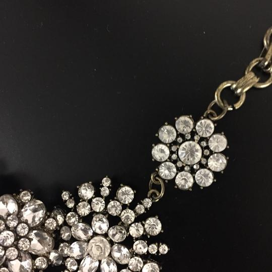Ily Statement Crystal Flower Necklace Image 10