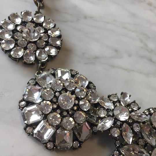 Ily Statement Crystal Flower Necklace Image 2