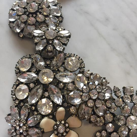 Ily Statement Crystal Flower Necklace Image 3