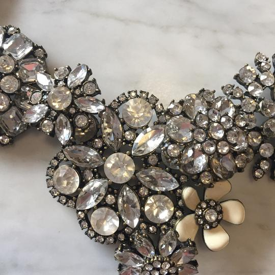 Ily Statement Crystal Flower Necklace Image 4