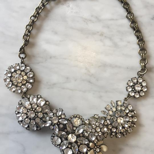 Ily Statement Crystal Flower Necklace Image 6